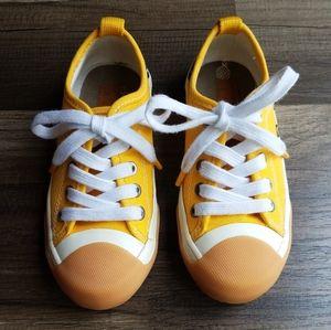 Zara Toe-Cap Sneakers